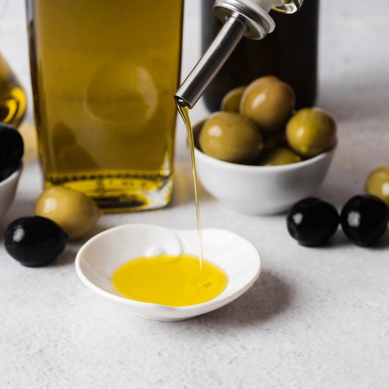 ORION Dispenser for olive and vinegar bottles 2 pcs set