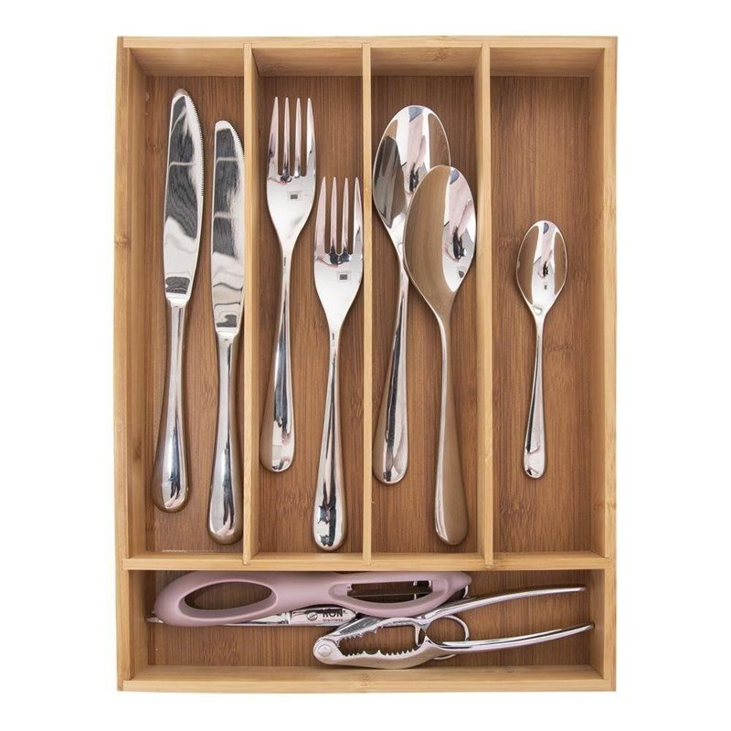 ORION Insert / organizer for drawer for cutlery BAMBOO