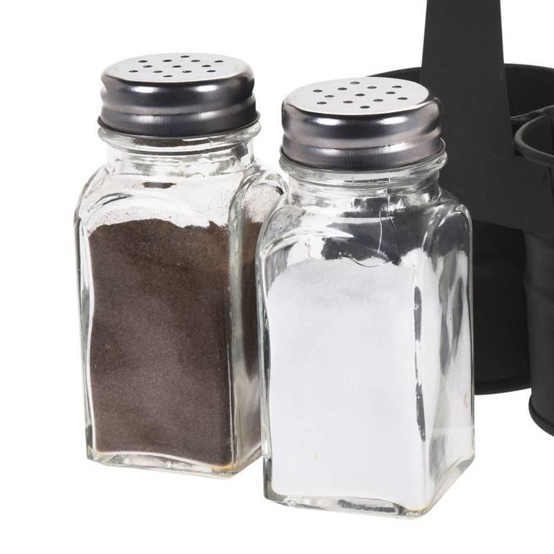 ORION Salt cellar + pepper cellar / cellar in stand