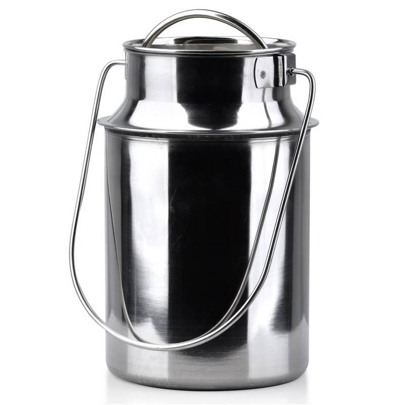 Kanka bańka na mleko do mleka stalowa retro 3,2 l